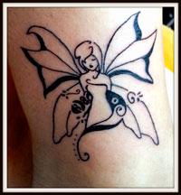 nymphe en tatoo